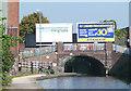 SP0787 : New Town Row Bridge, Birmingham and Fazeley Canal by Roger  Kidd