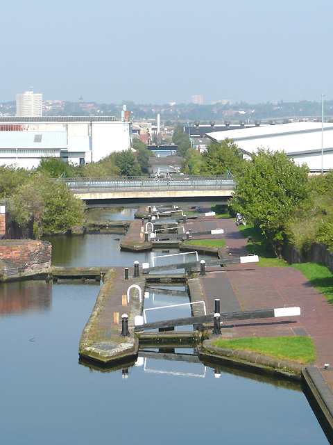 The Aston Flight, Birmingham and Fazeley Canal