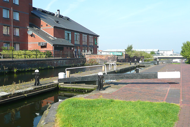 Lock No 17,  Birmingham and Fazeley Canal, Aston
