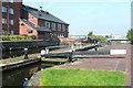 SP0788 : Lock No 17,  Birmingham and Fazeley Canal, Aston by Roger  Kidd
