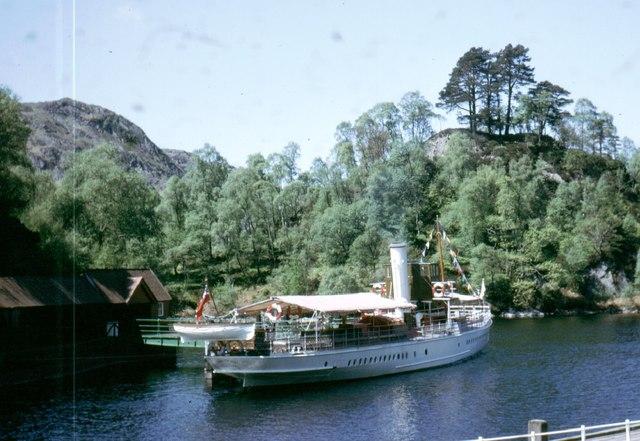 NN4907 : The 'Sir Walter Scott' at the Trossachs Pier