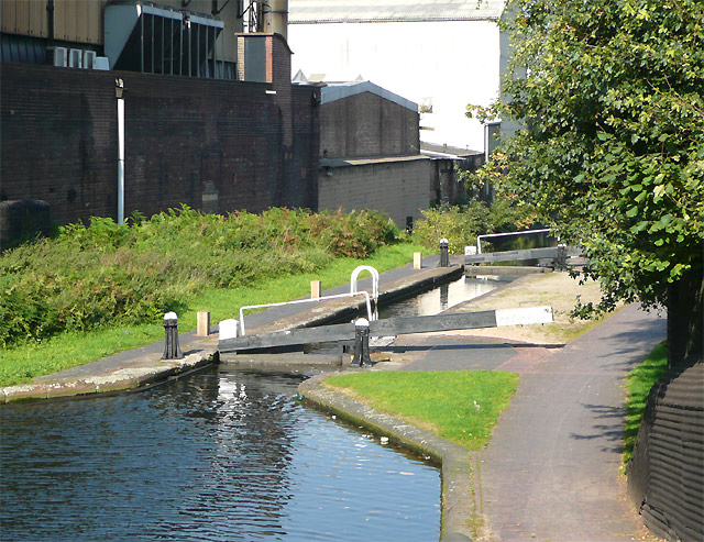 Lock No 22, Birmingham and Fazeley Canal, Aston