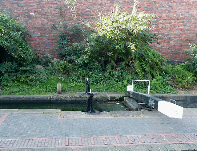 Bottom Gate of Lock 24, Birmingham and Fazeley Canal