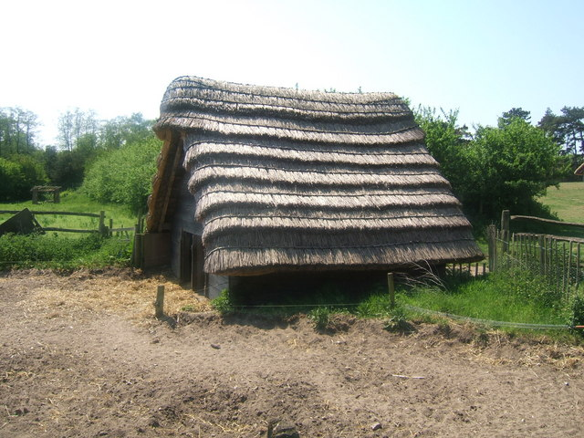 Hut at West Stow Anglo Saxon village