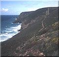 SW6949 : Coast path to Wheal Coates by Trevor Rickard