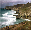 SW6949 : Mouth of Chapel Porth - 2 by Trevor Rickard