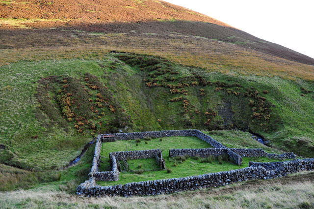 Well-preserved sheepfold
