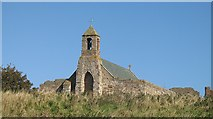 NU1241 : St. Mary's church  Holy Island by Richard Webb