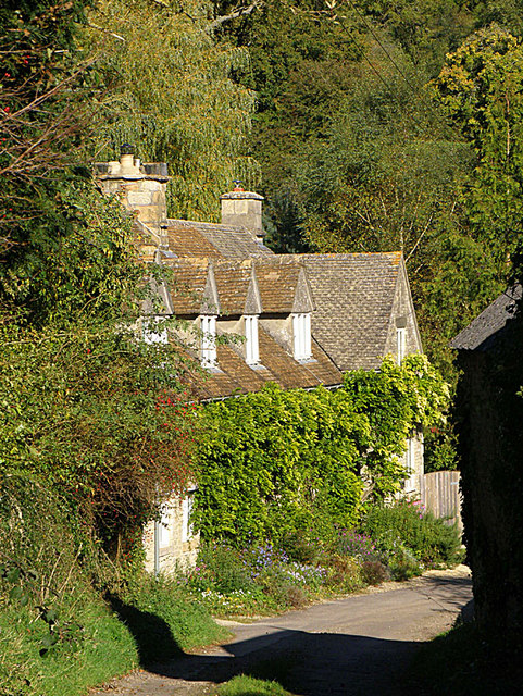 Cottages, Duntisbourne Rouse