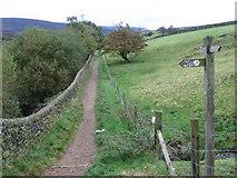 SK0296 : Path by Bottoms Reservoir by Chris Wimbush