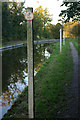 SJ3024 : Speed restriction, Montgomery Canal by Stephen McKay