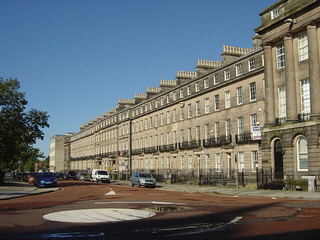 Hamilton Square, north side