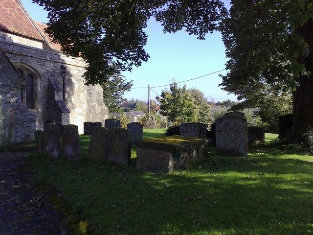 Churchyard, L. Lovell
