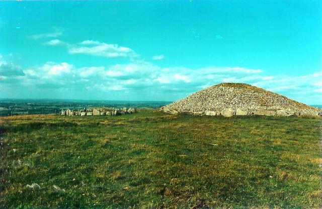 Passage tombs on Slieve na Calliagh, Co. Meath