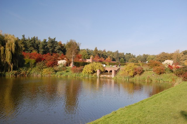 Autumn Colour Around the Lower Lake, Marks Hall