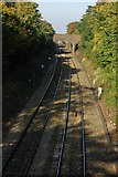 SO7845 : The railway at Great Malvern by Philip Halling