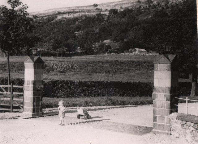 Scargill House Gateway, 1950