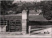 SD9771 : Scargill House Gateway, 1950 by William Holdsworth 1922-1969