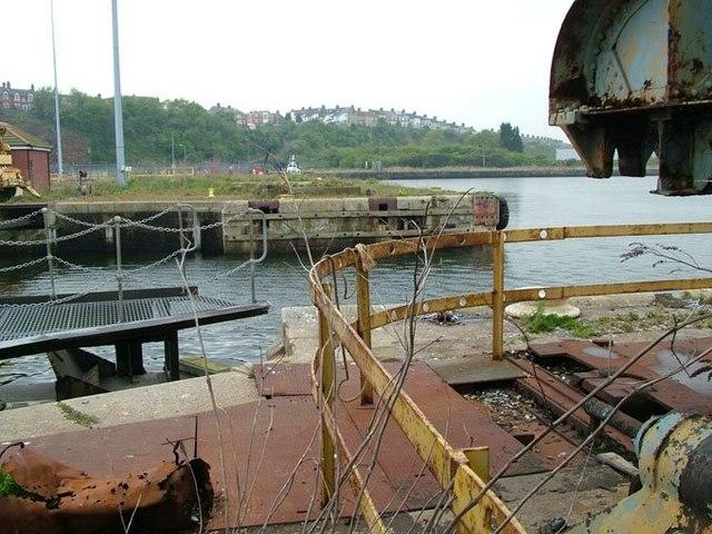 Barry Dock Inner Harbour entrance