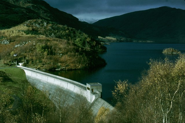 Dam of the Glen Finglas Reservoir