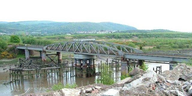 Neath Abbey Swing Bridge