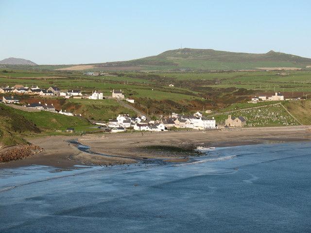 Aberdaron from the coast path