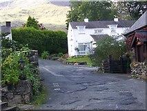 SH5848 : Village scene, Beddgelert by Maigheach-gheal