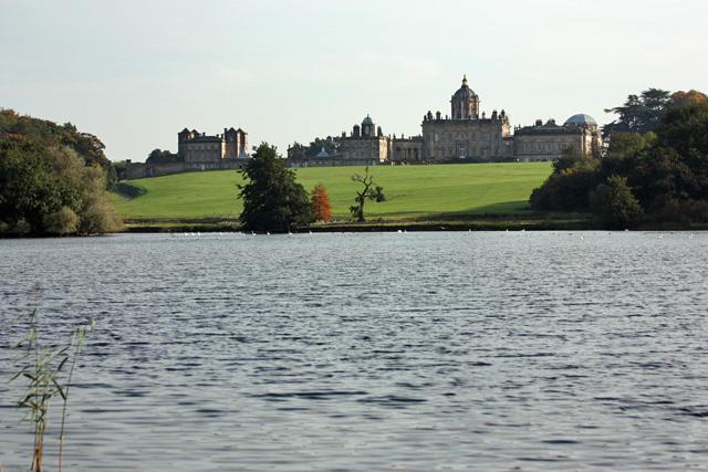Castle Howard across the Great Lake