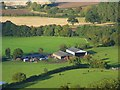 SO4896 : Farm buildings, Comley by Andrew Smith