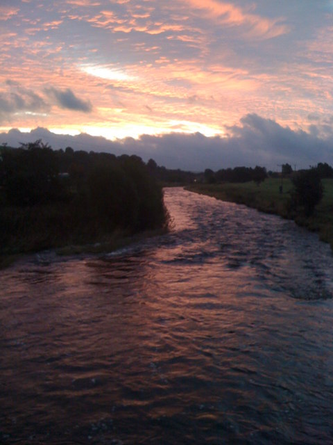 River Nith in the morning