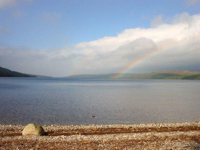 Rainbow (Or Two) On Loch Rannoch
