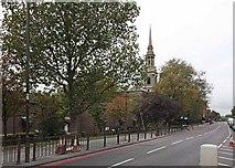 TQ3580 : St Paul's Church, The Highway, London E1 by John Salmon