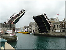 SY6778 : Weymouth - Harbour Bridge by Chris Talbot