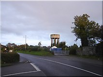 N9633 : Water Tower on Church Road from Vanessa Close by Ian Paterson