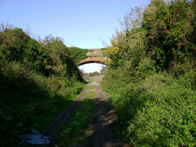 Bridge over old SER Railway line to Margate Sands