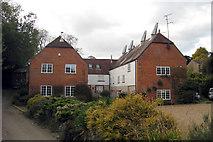 TQ6853 : Oast House on Love Lane, Wateringbury, Kent by Oast House Archive