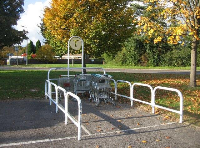 Trolley park - Somerfield