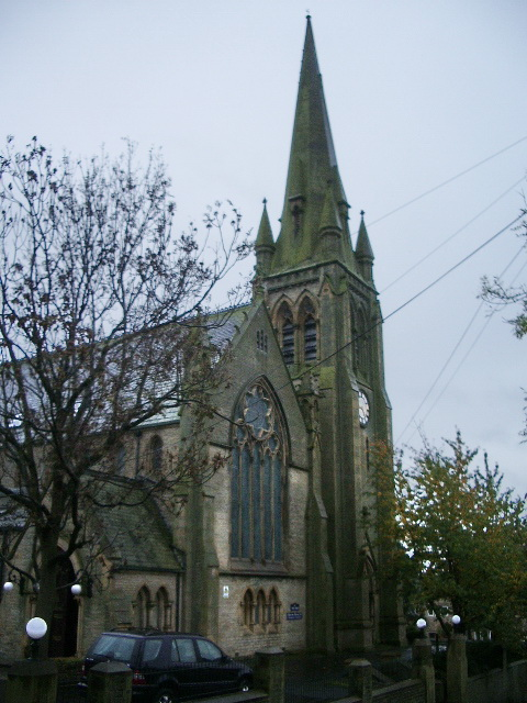 Former church on the junction of Upper Sutherland Road and Leeds Road