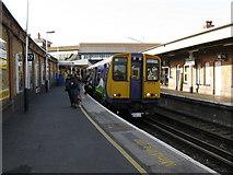 TQ2775 : Platform 17, Clapham Junction by Dr Neil Clifton
