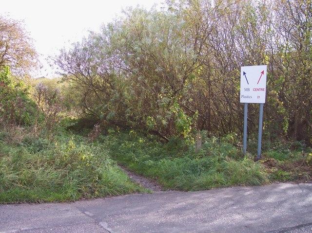Mersey Way signpost