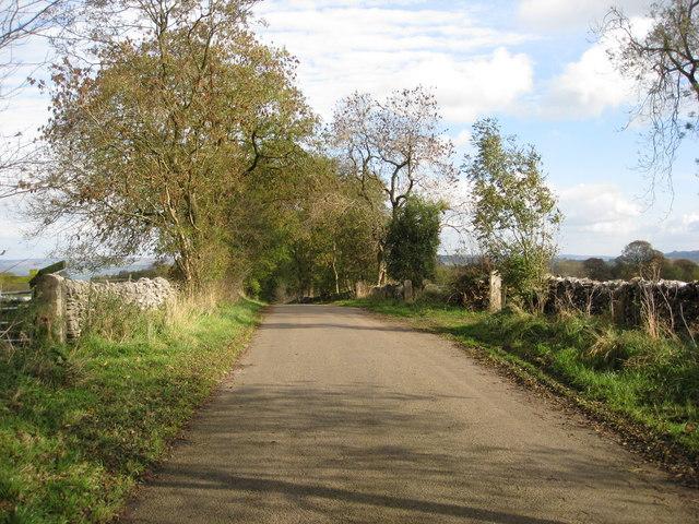 Lane - Heading towards Middleton