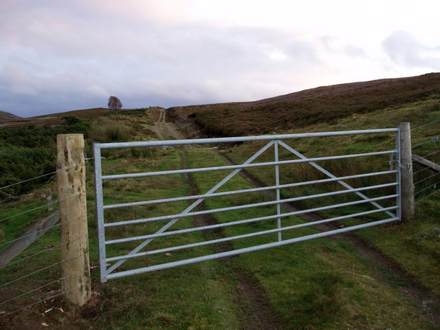 Gate Across Wade Road
