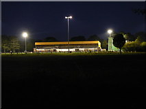 SZ1192 : King's Park: floodlit athletics stadium by Chris Downer