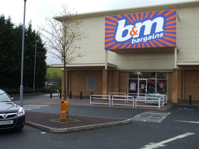 B & M Bargains, Omagh by Kenneth  Allen