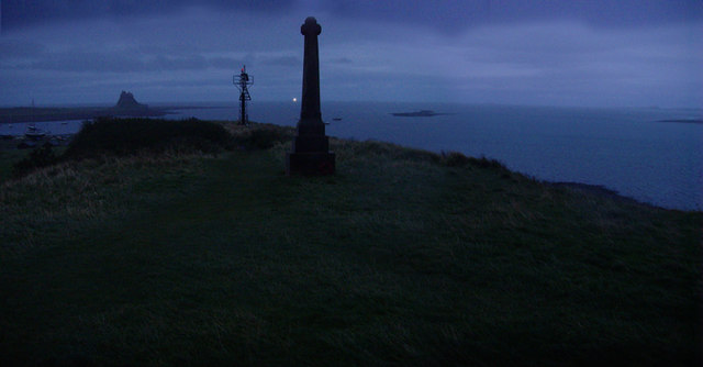 Lindisfarne Castle early evening