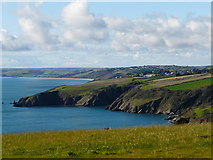 SX8848 : Combe Point, near mouth of the Dart by Tom Jolliffe