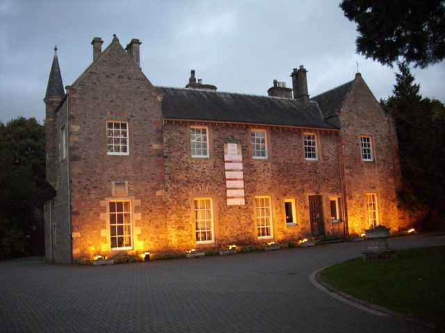 Early evening at Old Gala House.