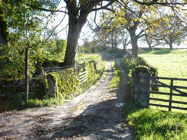 Chapel Lane - Bridleway and track