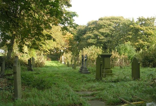 St Anne in  the Grove Graveyard - Church Lane
