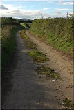 SO8843 : Old road to Kinnersley by Philip Halling